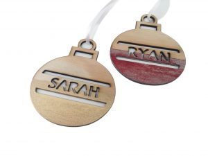 Personalised Christmas Baubles - Molossi