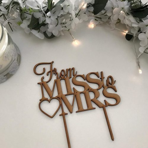 Bridal Shower / Kitchen Tea Toppers