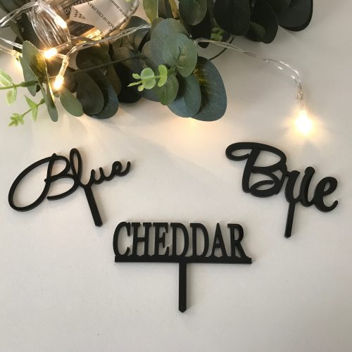 Cupcake / Cheese Toppers